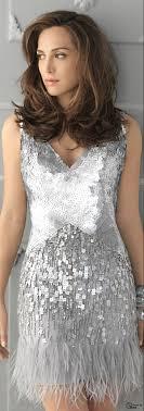 silver dresses for wedding plumas y flequillos moda flappers fashion