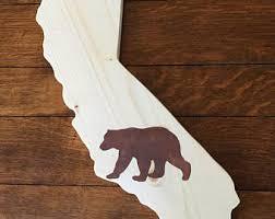 wooden california wall california wall etsy