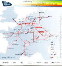 rail europe map railteam high speed europe