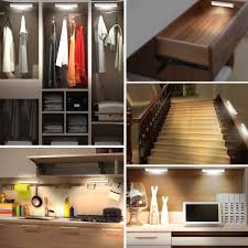 Under Kitchen Cabinet Lighting Battery Operated Jebsens T05 Led Under Cabinet Lighting Rechargeable Battery
