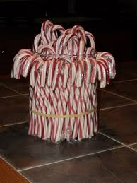 how to make a candy cane vase cane cane candy container candy