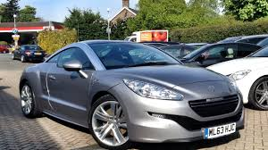peugeot cars for sale second hand peugeot rcz 1 6 thp gt for sale at cmc cars near brighton sussex