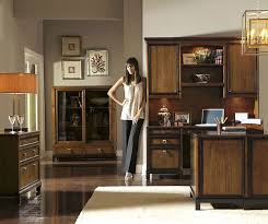 Black Wood Office Desk Office Minimalist Home Office With Elegant Ball Hanging