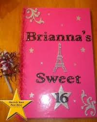 sweet 16 sign in book quinceanera sign in board custom sign in books for your sweet 16