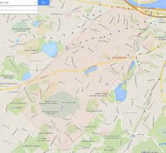 Massachusetts Map Brookline Massachusetts Map