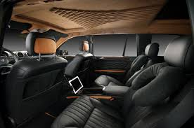 mercedes gls interior vilner transforms interior of mercedes benz gl autoevolution