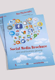 social media brochure template cleaning services premium bi fold psd brochure template by