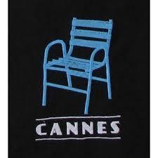 chaises cann es sac tote bag chaise bleu cannes