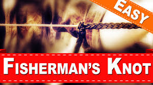 how to tie untie a fisherman u0027s knot eagle scout secure knot