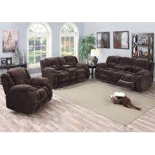 Reclinable Sofa magnum living room reclining sofa u0026 loveseat mocha umr157