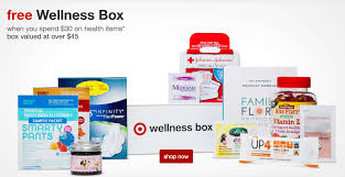 target wellness family box free with purchase or 10 my
