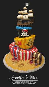 best 25 pirate cakes ideas that you will like on pinterest