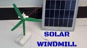 How To Make A Solar Light - how to make solar windmill at home youtube