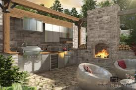 cuisine exterieure superbe amenagement de terrasse exterieure 2 r233alisations