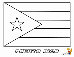 Puerto Rico Flag Sheets Puerto Rico Flag Coloring Page 46 For Your Images With
