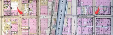 Washington Fire Map by Washington Street Tunnel