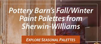 sherwin williams home see pottery barn u0027s new color palettes 30