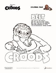 croods coloring pages 19 movies coloring sheets