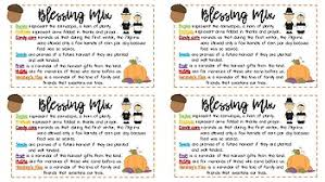 fall thanksgiving blessing mix tags printable by mrs kcs tpt