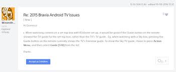 sky guide for android android tv sky guide sony