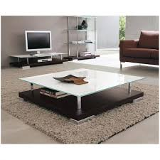coffee table 30 ideas of large square glass coffee tables parsons