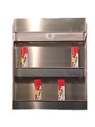 Xtreme Garage Cabinets Aluminum Aerosol Spray Can Storage Cabinet Shelf Holder Garage