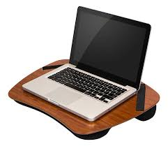 Laptop Desk With Cushion L Shaped Computer Desk For Corner With File Cabinet