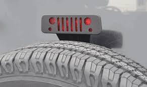 jeep wrangler brake light cover all things jeep third brake light guard grill jeep wrangler jk