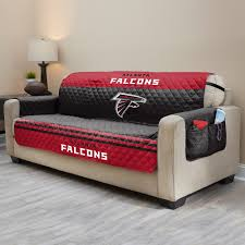 falcons quilted sofa cover