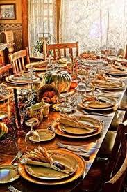 thanksgiving table i like this one special occasion