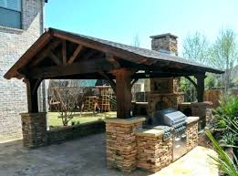 outdoor kitchen roof ideas covered outdoor kitchen design roof ideas marvelous about plans