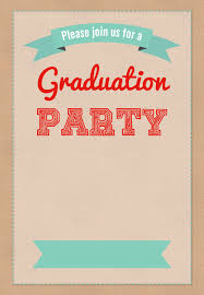 graduation party party invitations wording free wedding