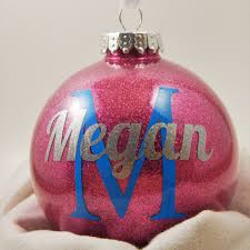 personalized christmas ornament personalized ornament name