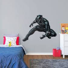 life size black panther avengers fathead wall decal shop black life size black panther avengers fathead wall decal shop black panther fathead decor