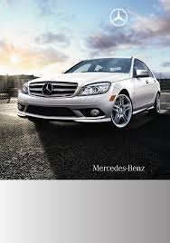 mercedes benz automobile 2010 c300 luxury sedan user guide