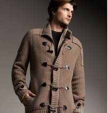 burberry merino cashmere knit toggle jacket pursuitist