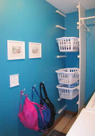 Tall Laundry Basket Stylish Cute Laundry Baskets On Shelf Brackets Projects Pinterest Shelf