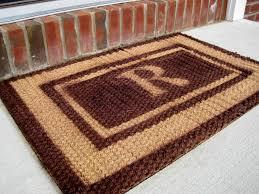 customized front door mats home decorating interior design