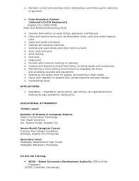 Sample Resume Restaurant by Sample Resume For Teacher Philippines Templates