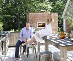 Elle Decor Celebrity Homes Inside Bobby Flay And Stephanie March U0027s Dreamy Hamptons Home