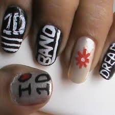 tutorial nail art one direction great deals one direction nail art blog pinterest nail art