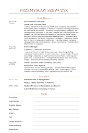 Account Executive Resume Sample by Junior Account Executive Cv örneği Visualcv özgeçmiş örnekleri