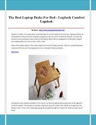 Logitech Laptop Desk Laptop Desks For Bed