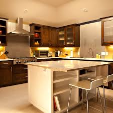 Freestanding Kitchen Furniture Kitchen Soft Light Wooden Standing Kitchen Cabinets With Range