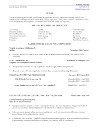 Sample Resume For Tax Accountant by Property Accountant Resume Resume For Your Job Application