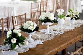 lace table runners wedding lace doily wedding table ruffled