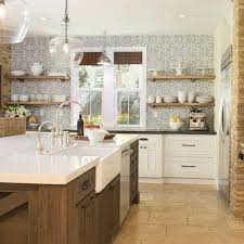 kitchen backsplash ideas houzz 11 best farmhouse kitchen with cement tile backsplash ideas houzz