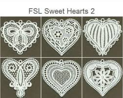 fsl dazzling 7 free standing lace ornaments machine