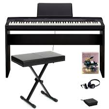 casio privia px 160bk 88 key digital piano bench bundle black