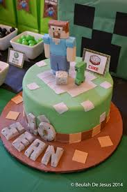12 amazing minecraft birthday cakes catch my party